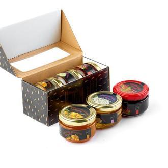 Подарочный набор варенья из Прикарпатья №5 - 3 шт.