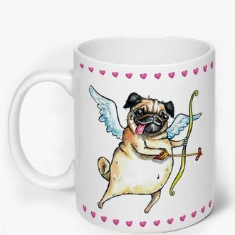 """Чашка """"Люблю, безумно люблю!"""""""