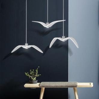 Дизайнерские светильники ручной работы Ночные Птички (Night Birds). Современные лампы. Светильники.