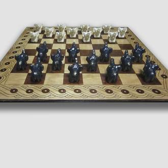 Шашки. Шахматная доска. Шахівниця.