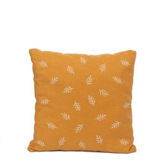Декоративная льняная подушка