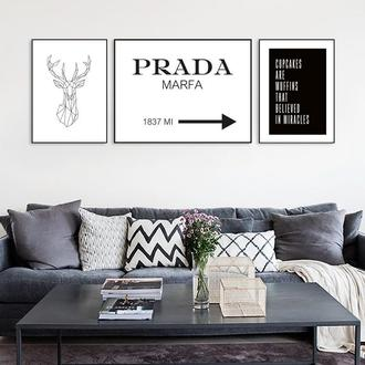 Постер Prada marfa