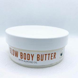 Glow body butter сияющее масло для тела