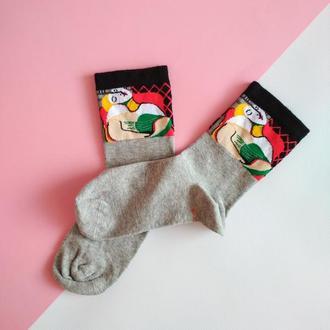 """Арт шкарпетки з картиною """"Сон"""" Пікассо"""