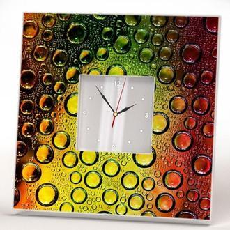 "Настенные часы ""Капли воды"""