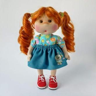 Текстильная кукла. Кукла для девочки. Авторская кукла.