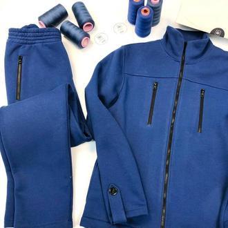 Спортивный костюм на флисе Gi Синий