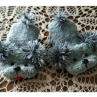 Собачки - варежки ( рукавицы)