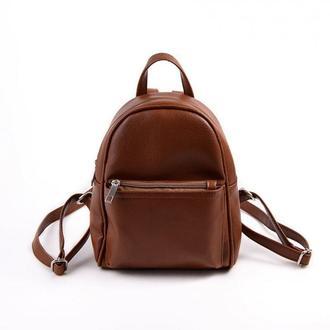 Рюкзак мини Коричневый