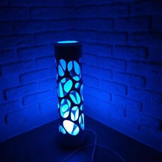 Крафтовый LED светильник, ночник