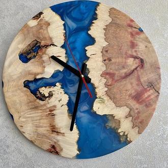Часы «Гжель»