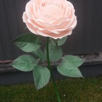 Светильник торшер роза из изолона подарок ручной работы