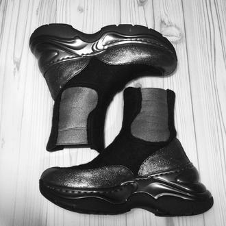 Валяные ботинки Челси