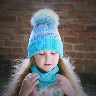 Детский комплект Sugar sweet шапка/снуд