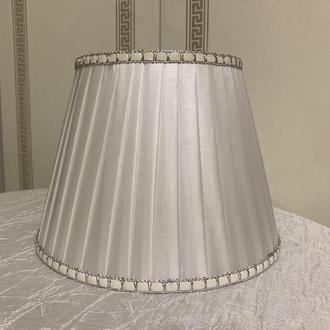 белый абажур для настольных ламп
