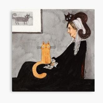 """Фотокартина """"Whistlers cat"""""""