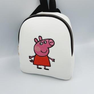 Детский рюкзак Пеппа. Рюкзак для деток 2-5лет