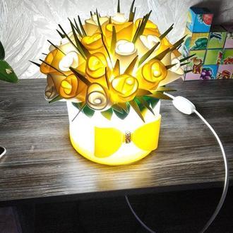 Светильник - букетик
