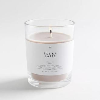 Ароматическая Свеча из натурального Соевого воска с ароматом - Лате 190 мл
