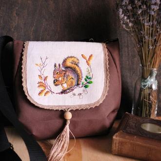"""""""Білка"""" жіноча сумка"""