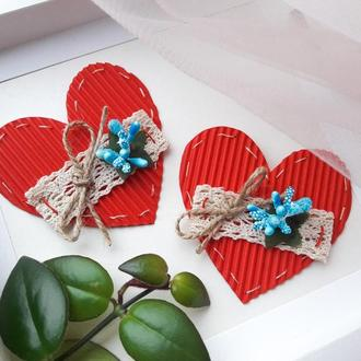 Валентинка (Открытка на День Святого Валентина)