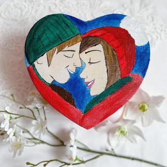 Подарок на 8 марта.,100 причин почему я тебя люблю 3 большая