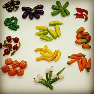 Овощи в миниатюре