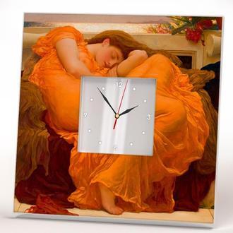 """Часы с уникальным дизайном Фредерик Лейтон """"Пылающий июнь"""""""