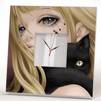 """Авторские часы в стиле """"Аниме"""""""