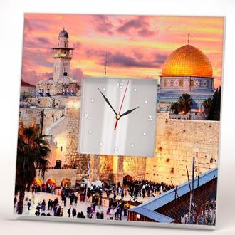"Часы с рисунком ""Стена Плача. Иерусалим"""
