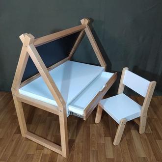 Детский игровой стол домик