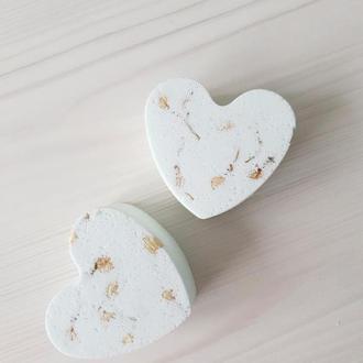 Натуральные бомбочки для ванны с жасмином и нероли - шипучки в подарок