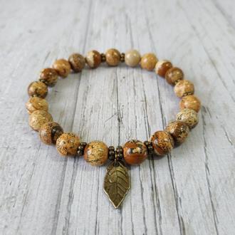 Женский браслет из натурального камня Ж22 18