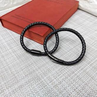 """Кожаный браслет """"minimalist"""""""