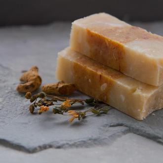 натуральное мыло со зверобоем