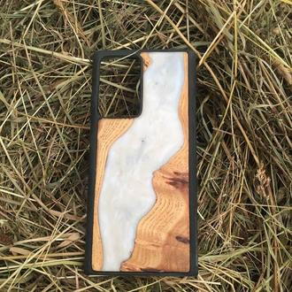 Resin & Wood Case for Apple iPhone Samsung