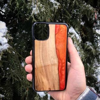 Resin & Wood Case for Apple iPhone