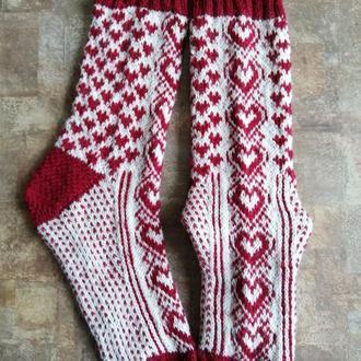 шкарпетки із сердечками