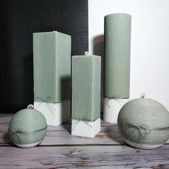 Ароматический набор интерьерных свечей