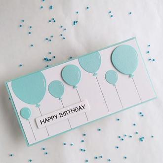 "Конверт для денег ""Happy birthday"""