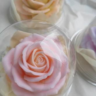 Роза в куполе, мыло