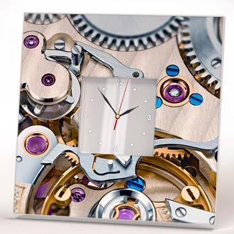 """Стильные настенные часы с изображением """"Стимпанк"""""""