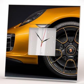 """Эксклюзивные часы с уникальным дизайном авто """"Porsche. Порше"""""""