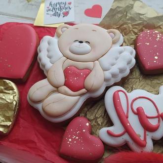 Набор пряников на День Валентина