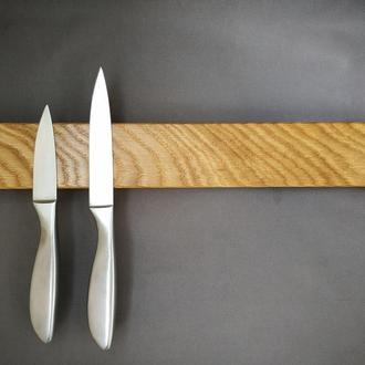 Магнитная доска для ножей увеличенная