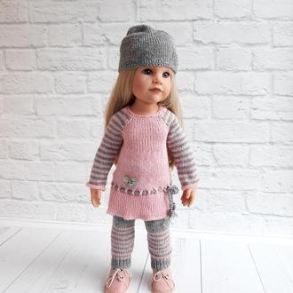 В'язана одяг на ляльку Готц 50 см, Набір одягу на Готц, подарунок дівчинці