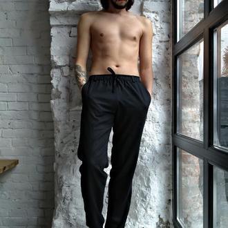Чоловічі літні брюки з натурального льону CASUAL LINEN PANTS