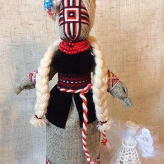 Авторская кукла-мотанка, единственный экземпляр - БЕЛОСЛАВА