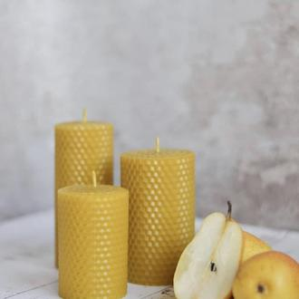 Свечи из натурального пчелиного воска (вощины)