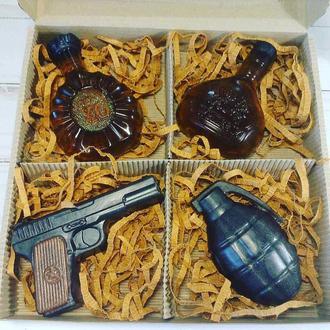 Сувенирное мыло, набор для мужчин